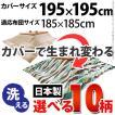こたつ布団カバー 正方形 日本製 国産 10柄から選べる195x195cm
