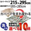 こたつ布団カバー 長方形 日本製 国産 10柄から選べる 215x295cm
