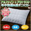 枕 まくら 43×63 防ダニ アルファイン 温度調節 アウトラスト 洗える オールシーズン 快適枕 日本製