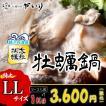 牡蠣鍋(2〜3人前)鍋セット 国産 牡蠣 を 大粒 サイズでたっぷり1kg