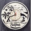 西海岸 インテリア 壁掛け時計