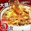 牛丼の具 冷凍 牛丼の素 日東ベストの牛丼DX 業務用 冷凍食品 185g入を5パック