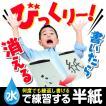 【DM便/送料無料】 水で練習する半紙3枚セット