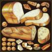 シール 食パン フランスパン 装飾 デコレーション チョークアート 窓 黒板 看板 ステッカー【最低購入数量3枚〜】