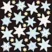 シール 冬 雪結晶 クリスマス 装飾 デコレーション チョークアート 窓 黒板 看板 ステッカー(最低購入数量3枚〜)