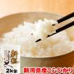 米 お米 2kg 新潟県産 コシヒカリ ラッピング対応不可