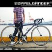 700C ロードバイク 折りたたみ自転車 21段変速 スタンド ドロップハンドル 806