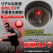 威嚇 ダミーカメラ LED センサーライト 防犯 配線不要...