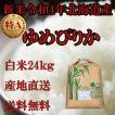 お米北海道産 白米ゆめぴりか24kg 1等米 令和元年産 産地直送 送料無料