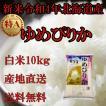 お米北海道産 白米ゆめぴりか10kg一等米 令和元年産 送料無料