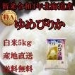 お米北海道産 白米ゆめぴりか5kg一等米 30年産 産地直送