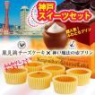 神戸スイーツセット 魔法の壷プリン4個入 風見鶏チーズケーキ6個入 冷凍