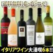 ワインセット 『これぞ夏の定番 』厳選激旨揃い イタリア大満喫6本セット wine