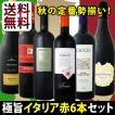 送料無料 秋の定番 極旨イタリア6本セット wine