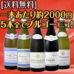 ワインセット その他ワインセット 特大感謝の厳選ブルゴーニュワイン大放出5本セット 送料無料 5本全てブルゴーニュ wine