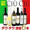 ワインセット その他ワインセット 送料無料 大人気イタリアン チウ・チウ 激旨6本セット wine
