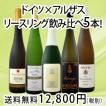 ワインセット 豪華バージョン 全部・リースリング 人気産地 ドイツ・アルザスのリースリング飲み比べ5本セット wine