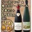 送料無料 人気高貴品種が夢の競演 格上リースリング&ピノ・ノワール2本セット wine