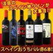 ワインセット 赤セット 赤ワイン 送料無料 スペイン全土の地ワイン満喫 スペインおうちバル6本セット5,580円 wine set