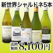 送料無料京橋ワイン厳選果実味満載の新世界シャルドネ5本セット wine