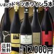 ワインセット 赤ワイン 全部現地発掘独自輸入『ドイツの赤はここまで進化している』格上今どきドイツ5本セット wine set