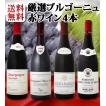 ワインセット 赤ワイン 特大感謝の厳選ブルゴーニュ大放出4本セット!! wine set