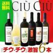 ワインセット 赤白セット 送料無料大人気イタリアン激旨6本セット wine set