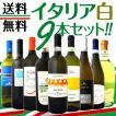白ワインセット 送料無料≪バラエティ豊かな個性を大満喫!!≫激旨イタリア9本セット!! wine set