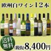 ワインセット 白セット 白ワイン 送料無料1本あたり700円(税別)!!採算度外視の大感謝!厳選12本セット wine set