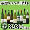 ワインセット 白セット 白ワイン 送料無料80セット限り★京橋ワイン厳選フランス9本セット!! wine set