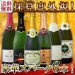 送料無料第57弾ベスト・オブ・スパーク京橋ワイン厳選高級クレマンも入った極旨泡ばかりの辛口6本セット