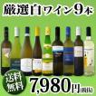 ワインセット その他ワインセット 送料無料 超特大感謝 スタッフ厳選 の激得白9本7,980円(税別)セット wine