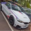 BMW カー ボディー ステッカー セット E90 E60 F30 F10 E46 M3 M4 M5 3D ステッカー パワー パフォーマンス