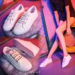 スニーカー レディース ローカット スリッポン ダンスシューズ カジュアル ストリート スケシュー 通勤 通学 シンプル 歩きやすい ダンスシューズ 209