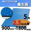 ダイヤボード(RPボード)【2.5mm厚・5枚】青〔005001〕1800mm×900mm≪送料無料≫