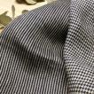 生地 布地 ★ワイド幅★ 先染め リネン 変り織り ワッシャー ミニ ストライプ ツイル / ミニ ハウンドトゥース チェック