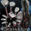 <送料無料> ワールドイーグル G510 メンズ 16点 ゴルフクラブ セット