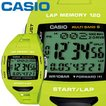 カシオ フィズ スポーツウオッチ 1000 グリーン 樹脂バンド マルチバンド6 タフソーラー 最大120本のラップメモリー CASIO PHYS FOR RUNNERS