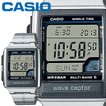 カシオ ウェーブセプター 59DJ メンズ ステンレスバンド マルチバンド5 5気圧防水 電波時計