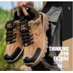 トレッキングシューズ 登山靴 メンズ アウトドアシューズ 秋冬 ハイキング靴 メンズウォーキング シューズ アウトドア 遠足靴 スポーツ thg180