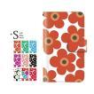 手帳型ケース iPod TOUCH 5 6 / フラワー for iPod TOUCH 第5 6世代 手帳 ケース カバー