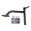 King Pin シャローアンカー バウマウント 3インチ ブラック アルミ製 PANTHER 501301 【あすつく対応】