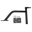 King Pin シャローアンカー バウマウント 6インチ ブラック アルミ製 PANTHER 501601 【あすつく対応】