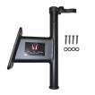 King Pin シャローアンカー トランサムマウント 5インチ ブラック アルミ製 508501 【あすつく対応】