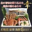 海鮮セット 海鮮ギフト 豪華6点 セット「幸」詰め合わせ 3〜4人前程度 北海道 海産物 御歳暮 年末 年始 お祝い ギフト セット 食べ物 プレゼント