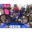 GIOS ロードバイク AERO LITE SHIMANO 105 エアロダイナミクスフレームで高速巡航性を追求したバイク