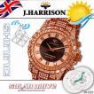 ジョンハリソン JOHN HARRISON シャニングソーラー電波腕時計 J.H-025PB