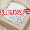 【国内産】もち米がお買い得!! 20kg(10kg×2) 【大特...
