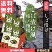しば漬け風 柿の種揚 4袋入り メール便 送料無料 京都 マンルイ 40g