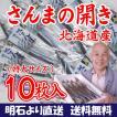 北海道産 特大さんまの開き干し10枚セット 取り寄せ 干物セット プレゼント 贈答 ギフト  お歳暮(送料無料)